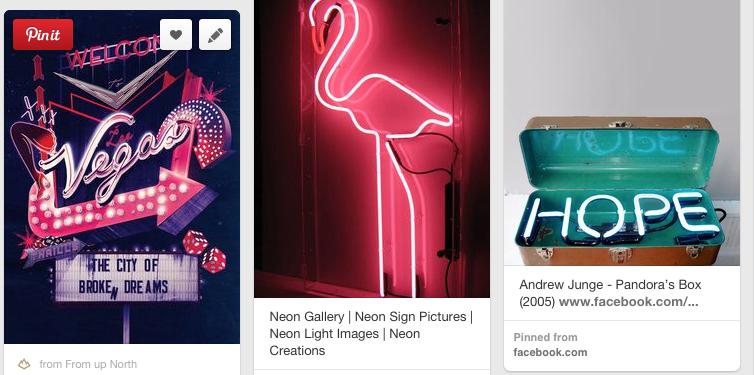 Neon Retro Glow on Behance