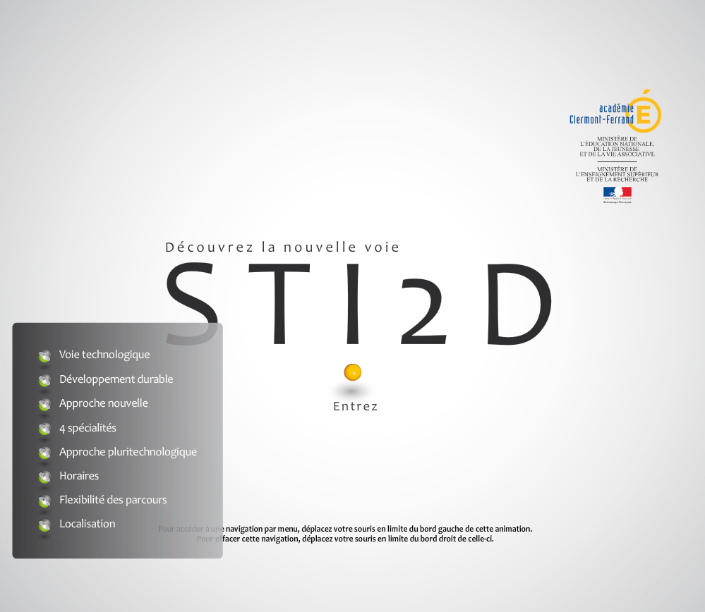 presentation animation  Flash Multimedia  filière STI2D