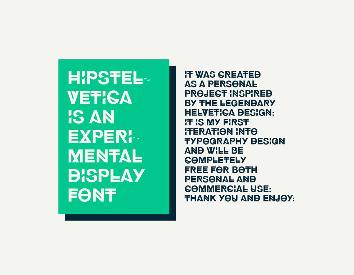 font Hipster Typeface helvetica download