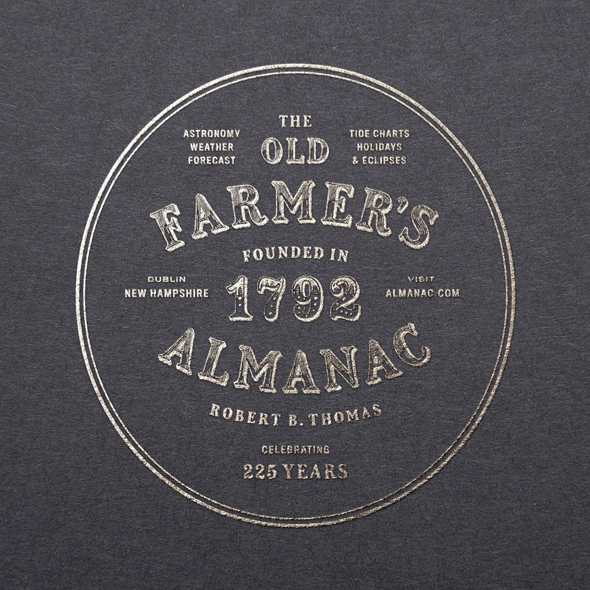 The Old Farmer's Almanac On RISD Portfolios