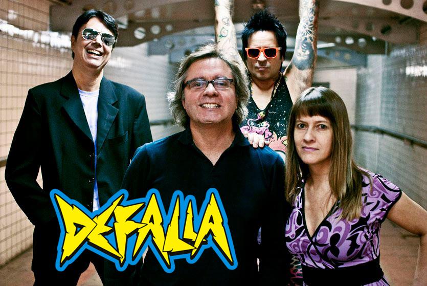 logo defalla rock band Brasil porto alegre