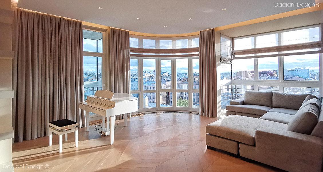 apartment architecture design Interior interior design  living room архитектура дизайн интерьера интерьер парадныйквартал