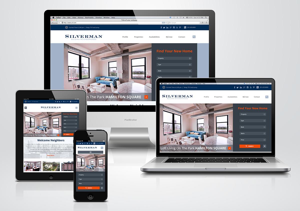 Responsive Real Estate Website Design and Development