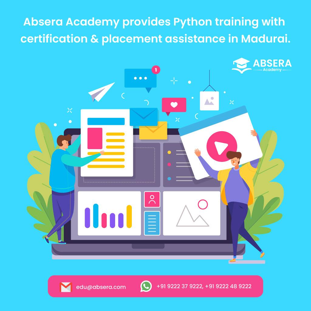 AbseraAcademy BestPythonCourse python pythontraining PythonTraininginMadurai