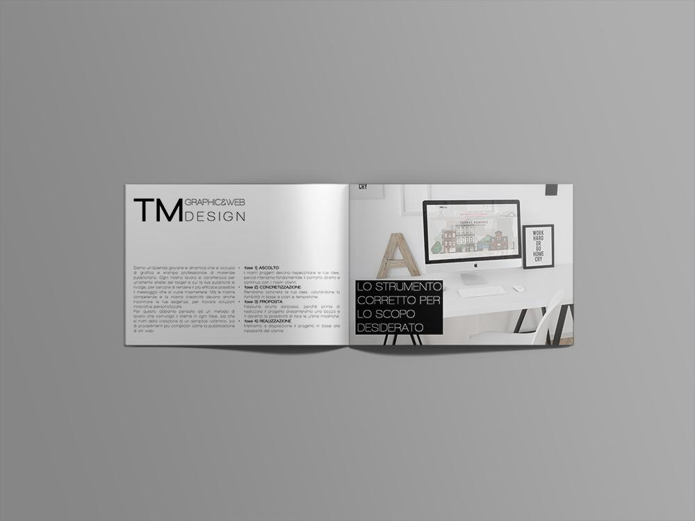 brochure TmGraphics design