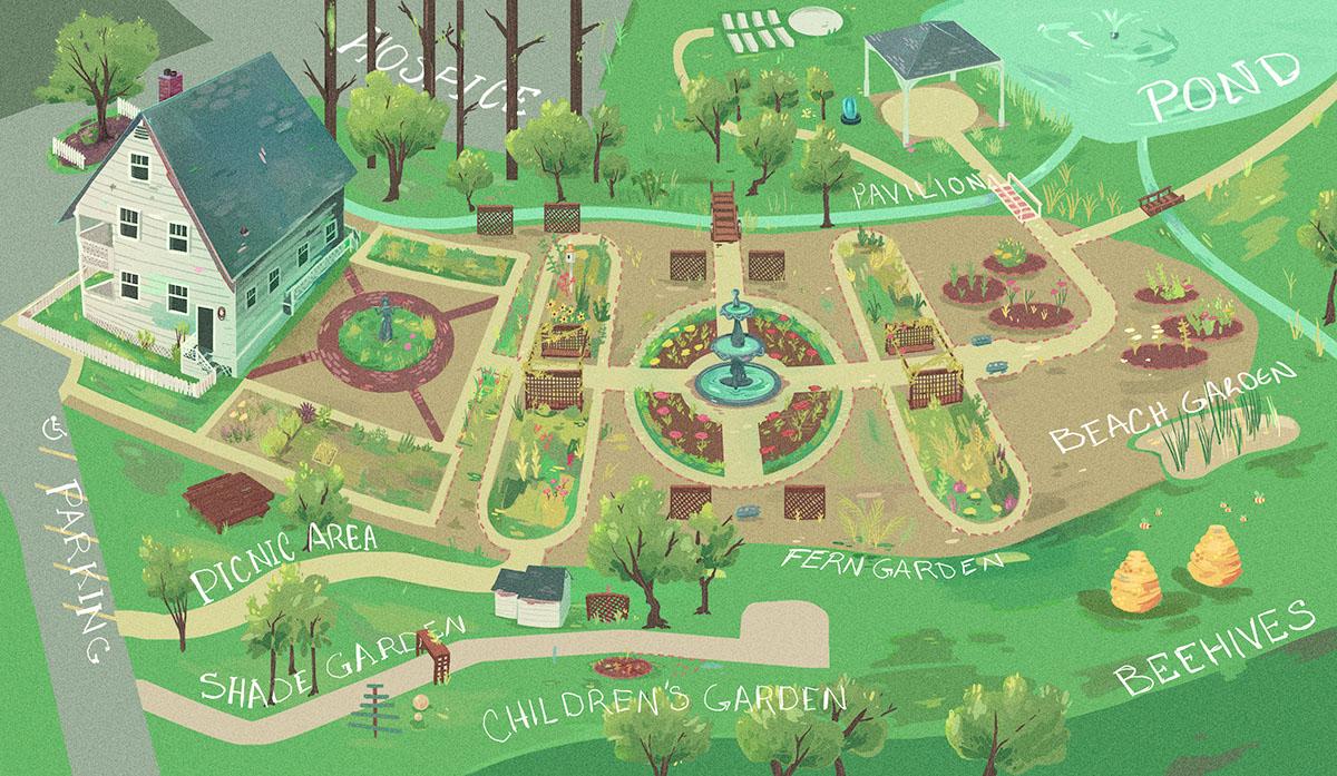 scad atlanta campus map Botanical Gardens Map On Scad Portfolios
