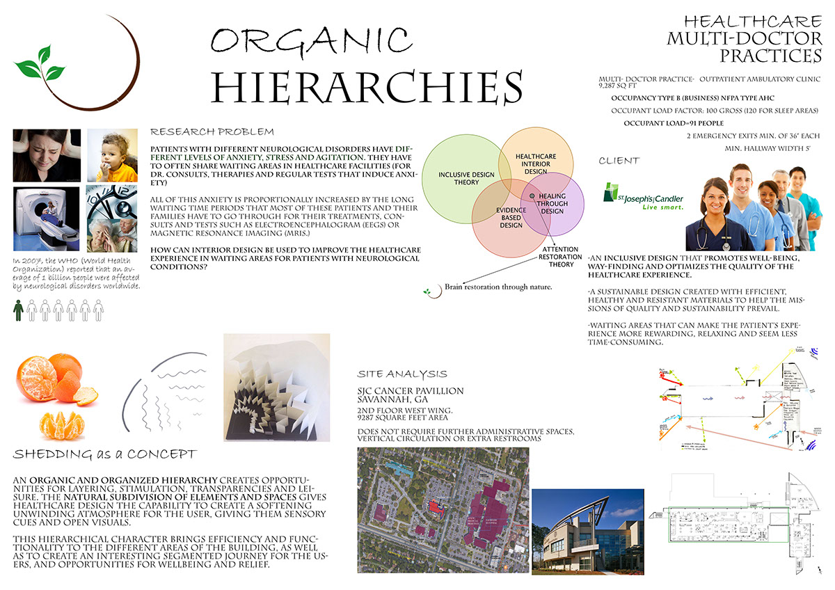 Outpatient Neurological Center Organic Hierarchies On Los Andes Portfolios