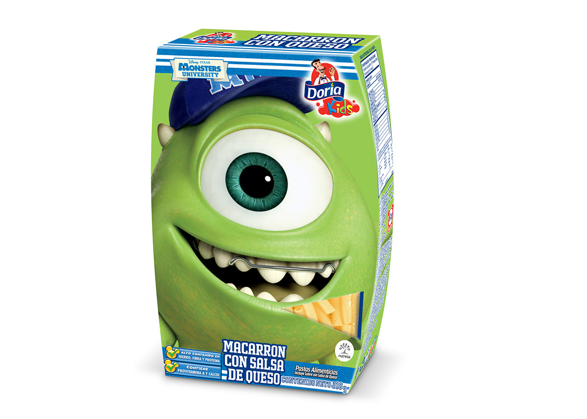 Doria Kids Monsters University on Behance