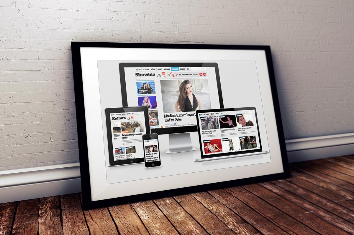 online,digital,newspapper,Web,news,kosovo,design,UI,ux