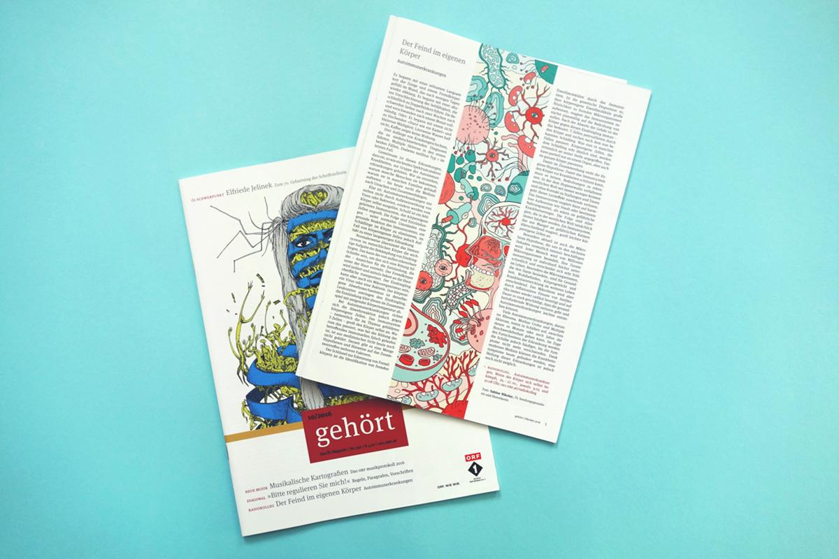autoimmunedisease Bacteria Ö1 Gehört magazine virus