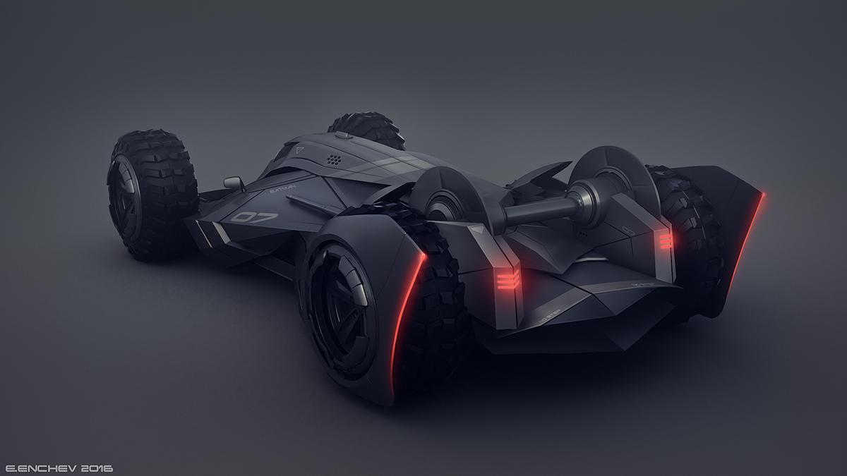 batman Batmobile car Vehicle concept design dark