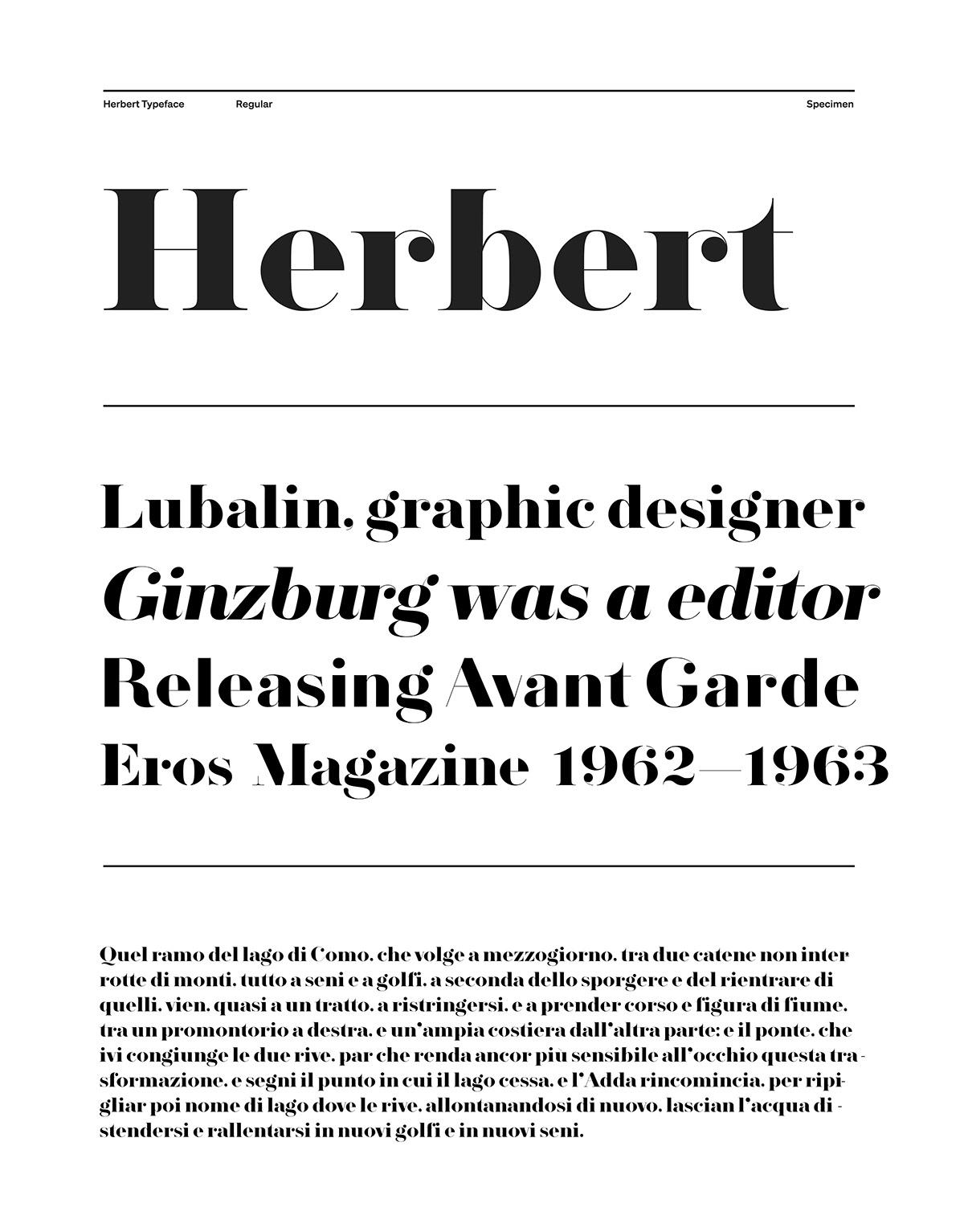 font Typeface elegant serif free Didone typography   type