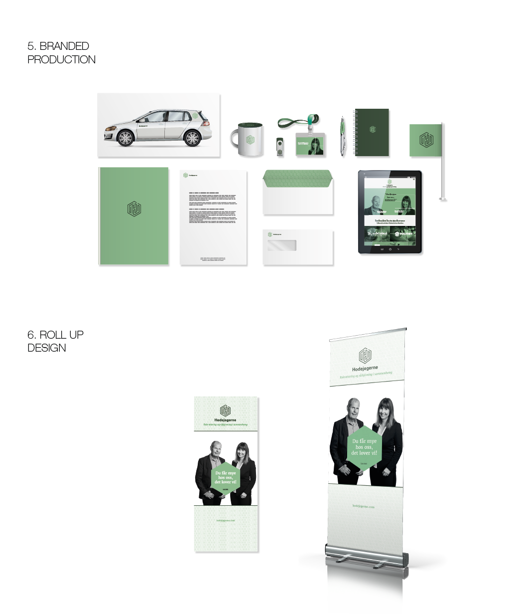 brand logo Geometrical minimalistic green official