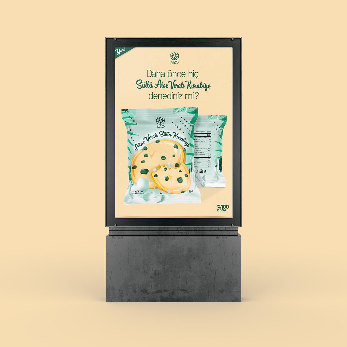 aléo vera Branding & Identity Deniz Şen Deniz Şen design packaging design