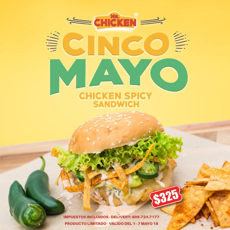 cincodemayo 5demayo mexico chicken mrchicken Photography  graphicdesign design marketing   branding