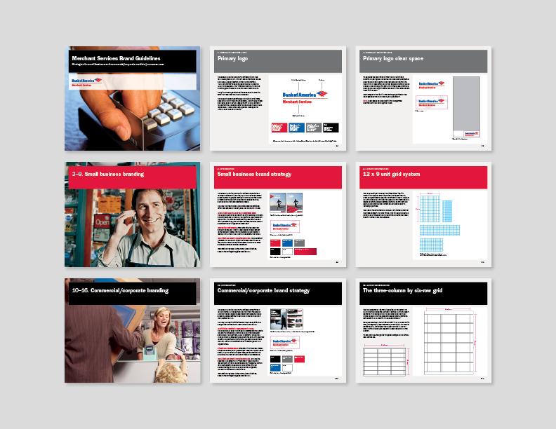bank of america merchant services brand guidelines on behance rh behance net corporate branding guidelines pdf for web corporate branding guidelines pdf