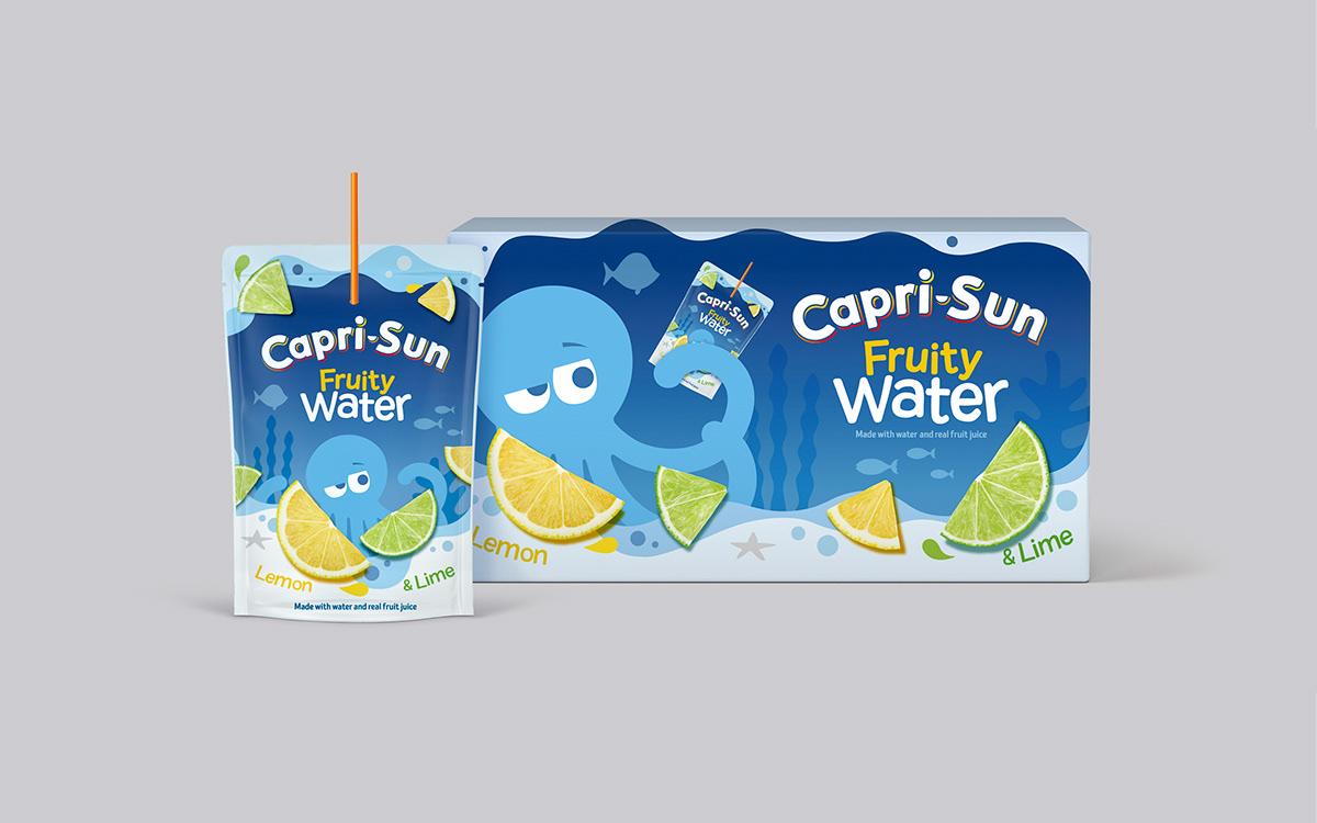 fruity water Capri-Sun kids Playful Fun logo multipack new flavour