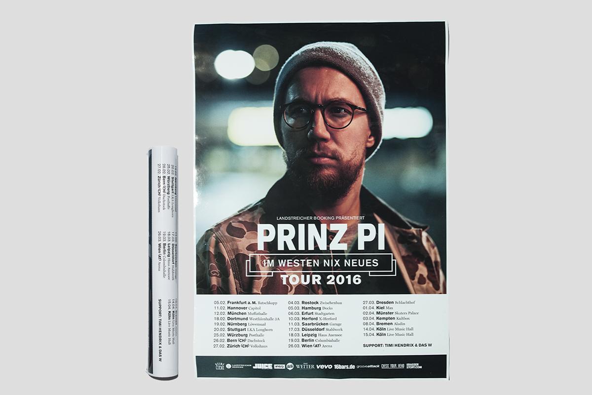 Prinz Pi Im Westen Nix Neues Record Design On Behance