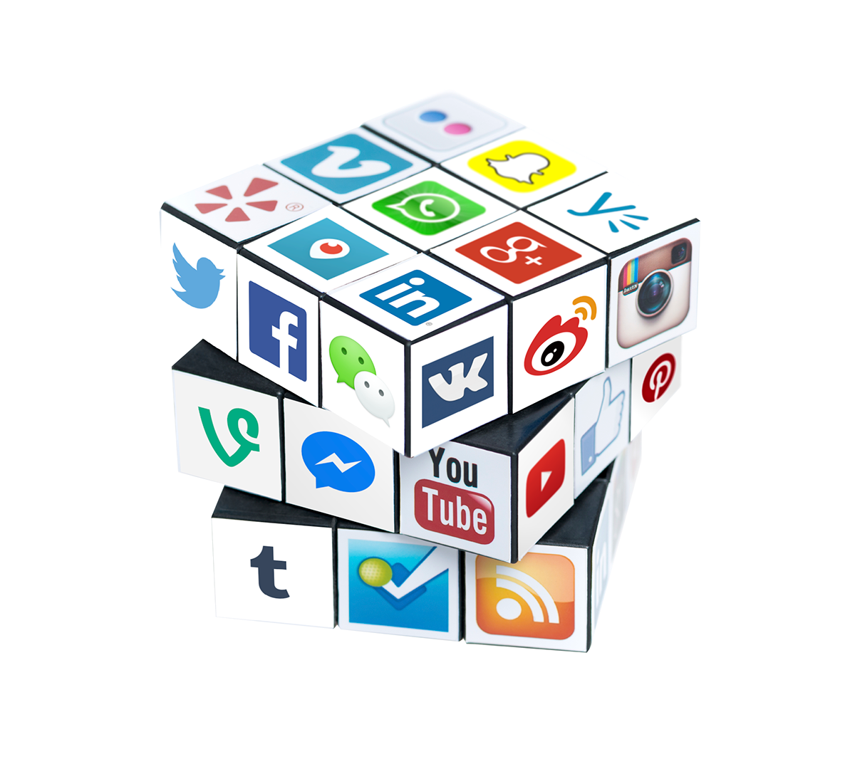 Social Media Cube Update On Behance