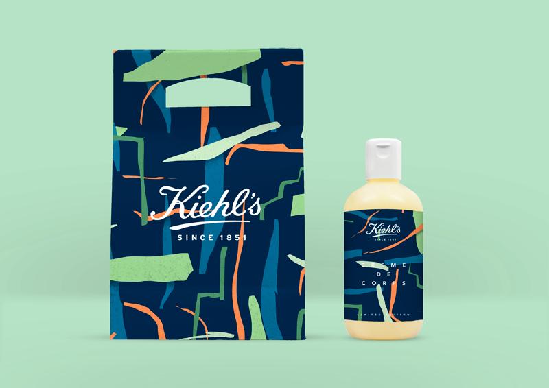 Cosmetic cream Kiel paper cut-out