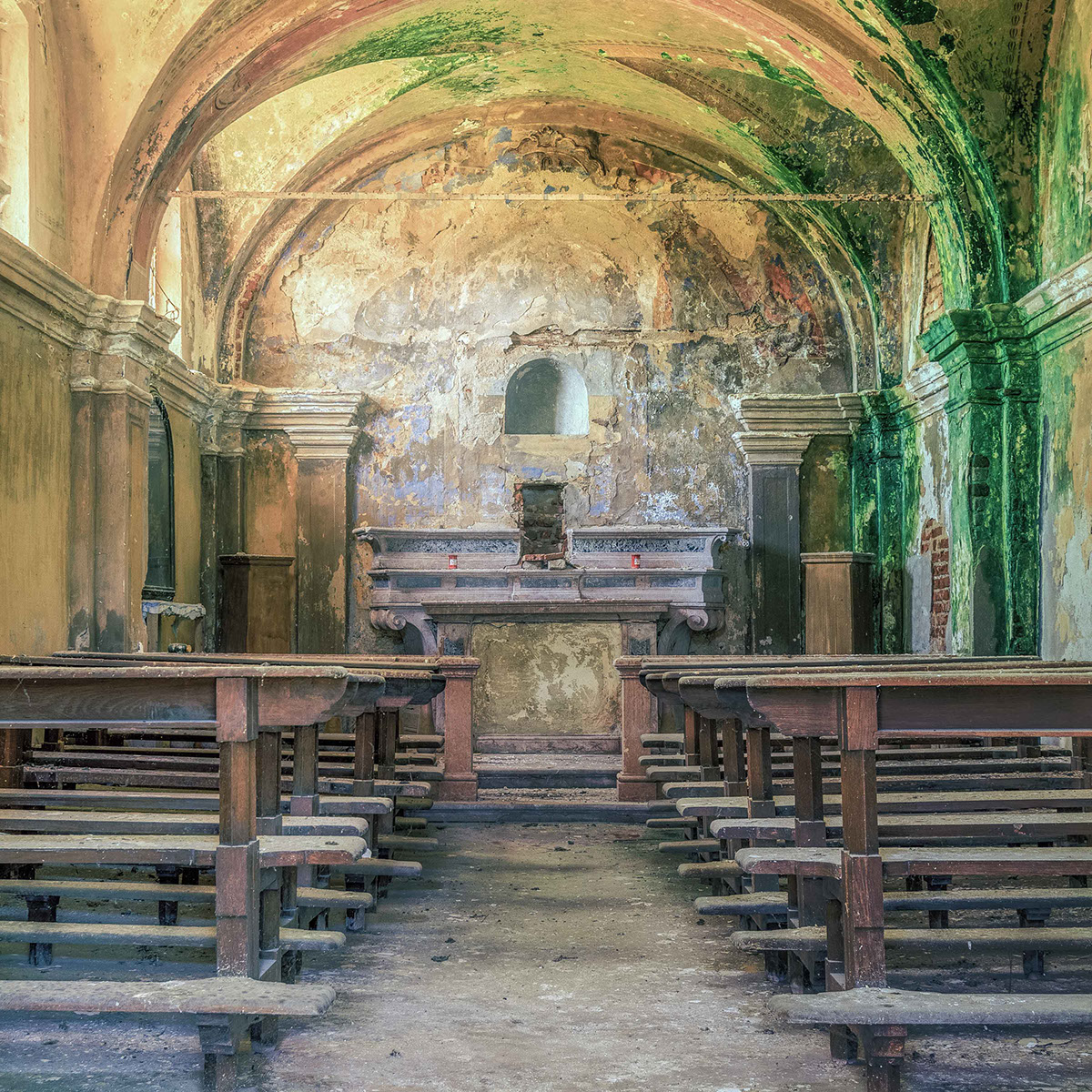 The Abandoned Churches Of Europe On Behance