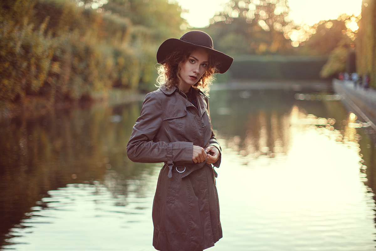 Adobe Portfolio Photography  color digital autumn model Beautiful