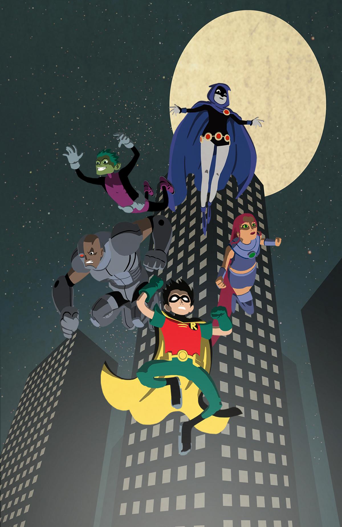 Teen Titans Go on Behance