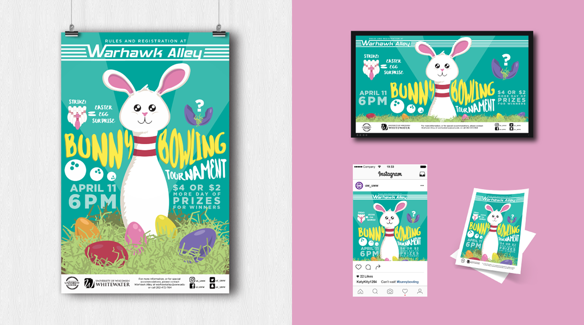 Bunny Bowling Tournament On Behance
