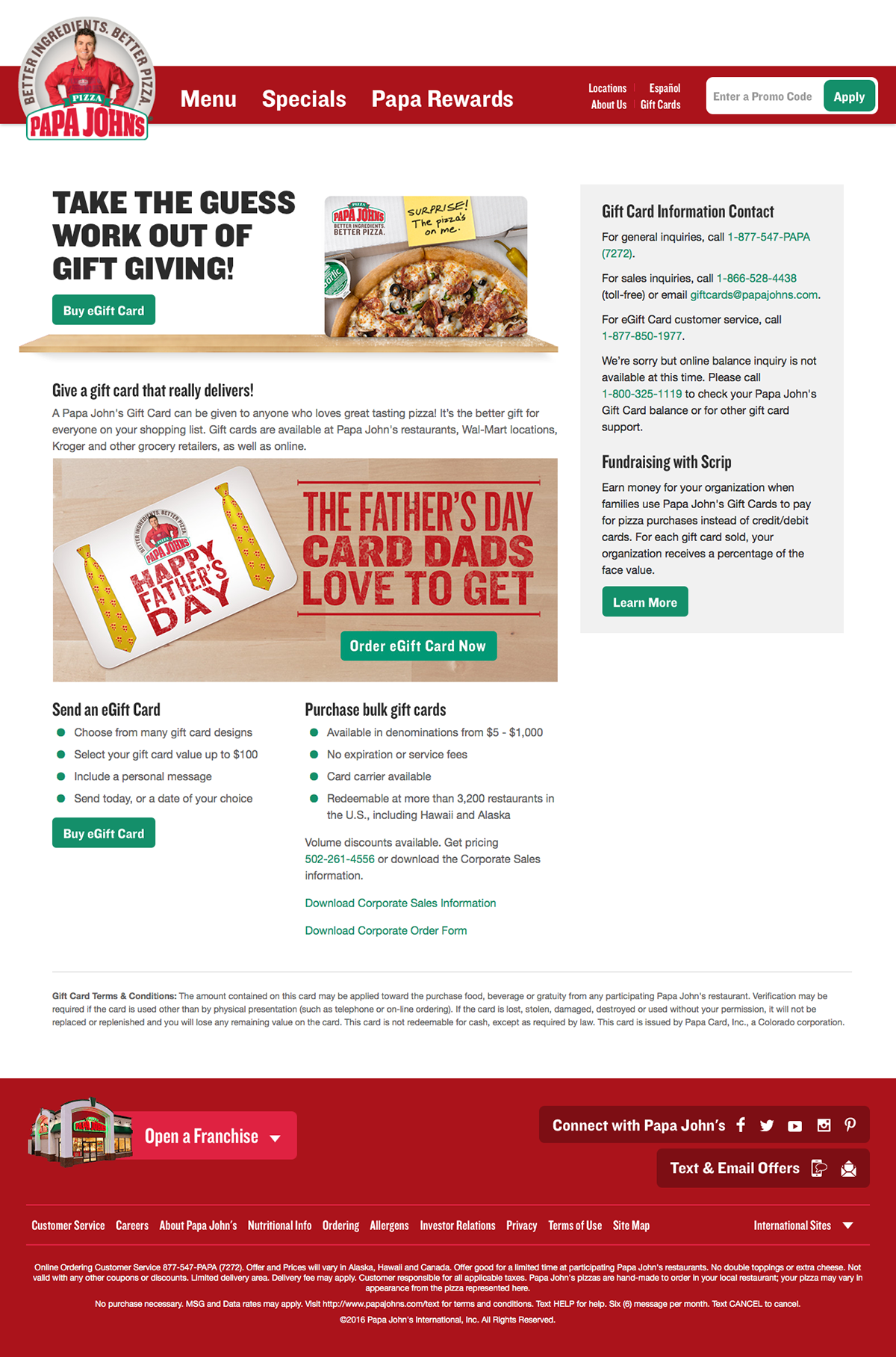 Papa John's Father's Day on Behance