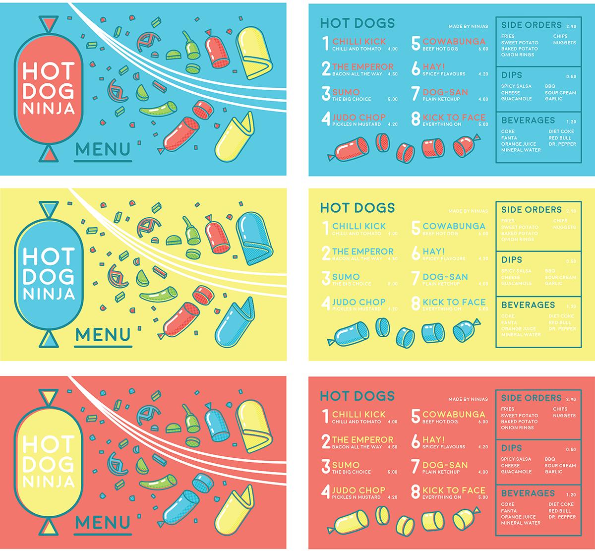 Hot Dog Ninja Food Truck