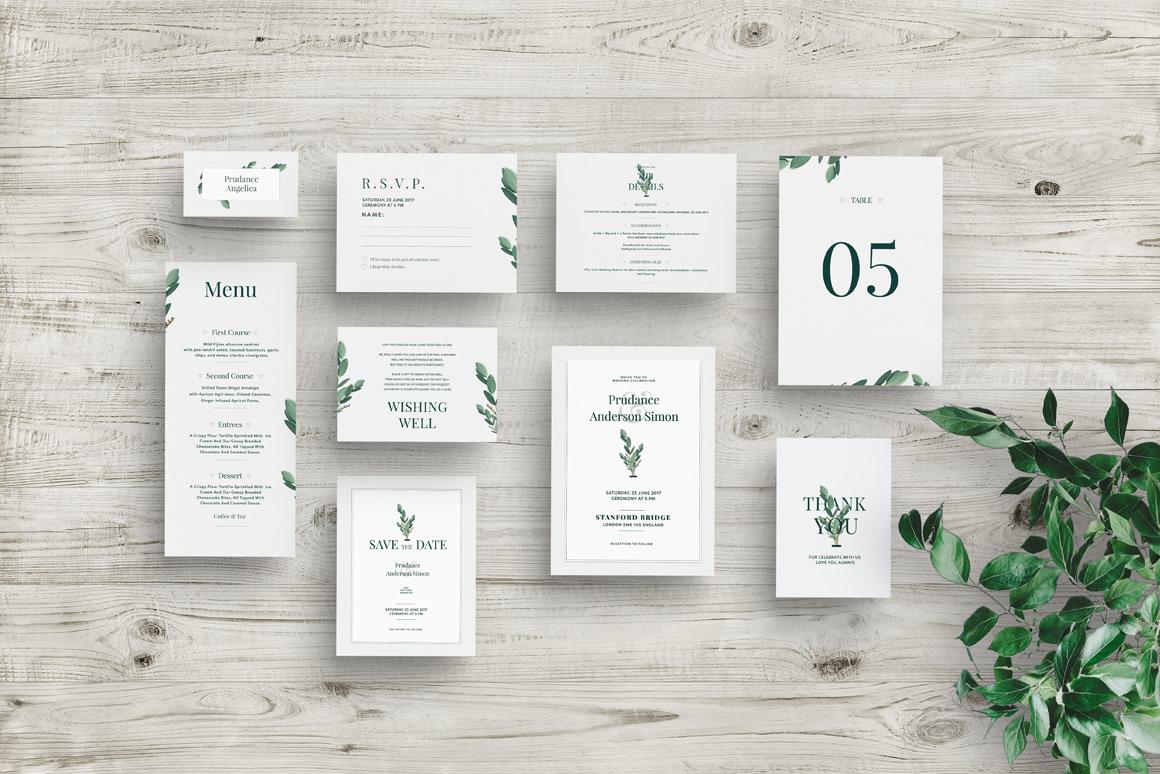Wedding Invitation Suite Mockup On Behance
