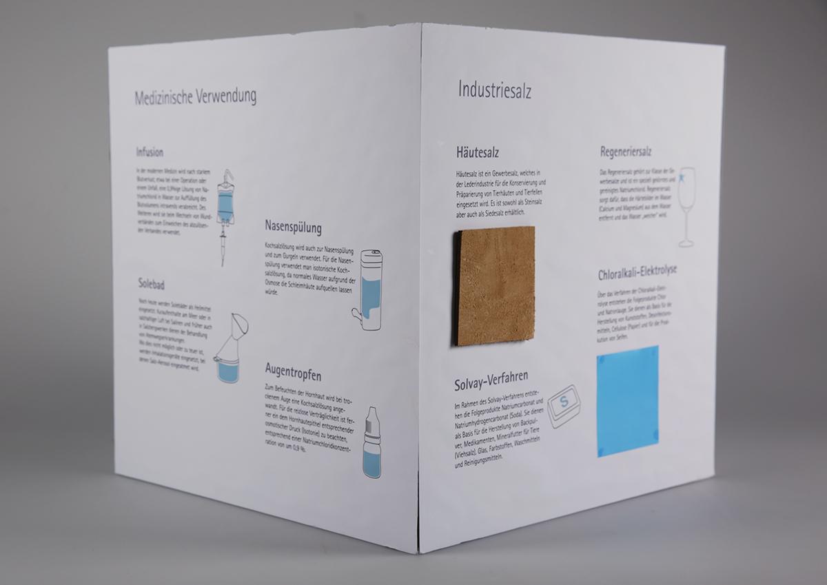 Salz, das weiße Gold – Ausstellungsmodell on Behance
