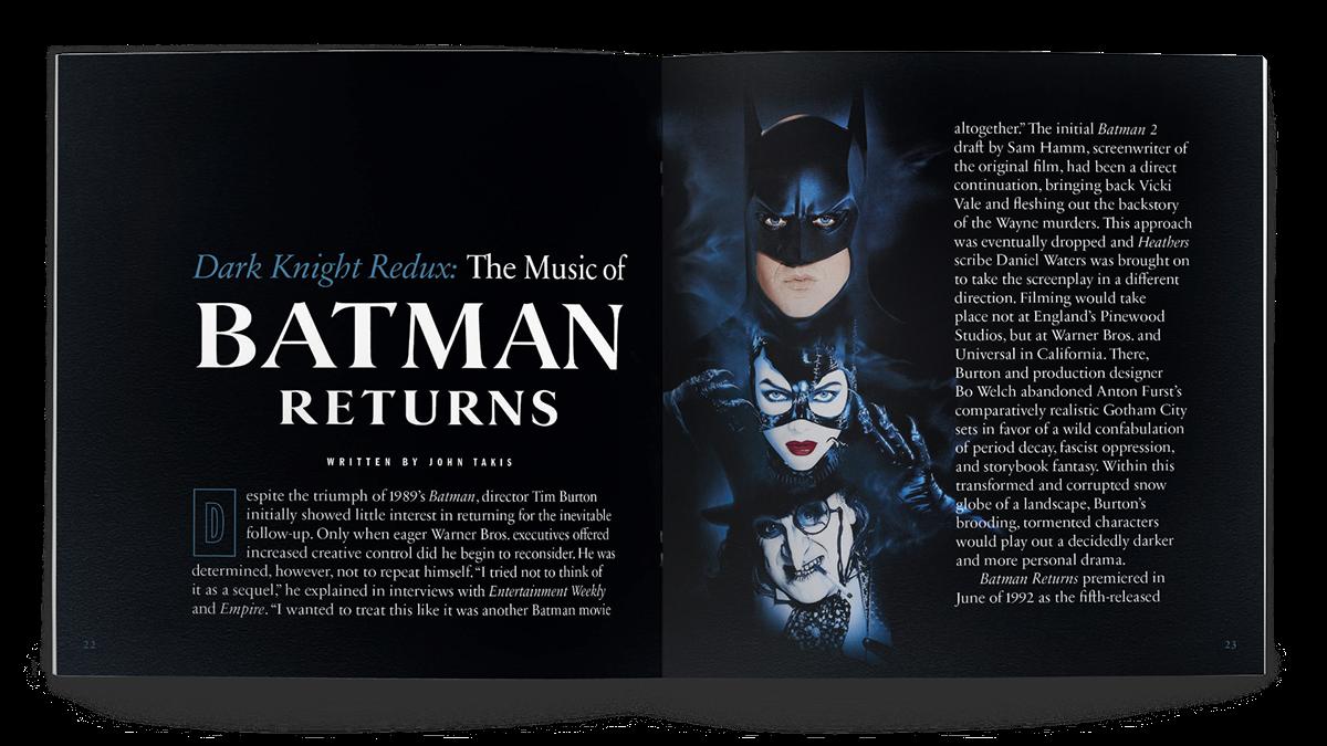 The Danny Elfman Batman Collection On Behance