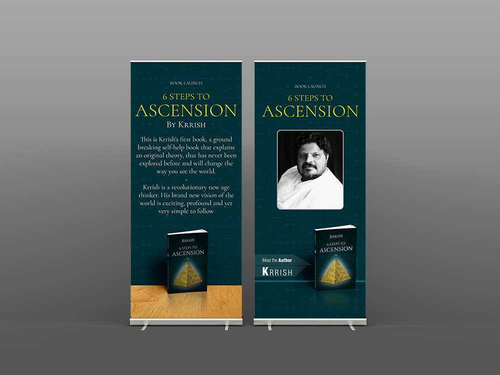 Book Launch Poster Design