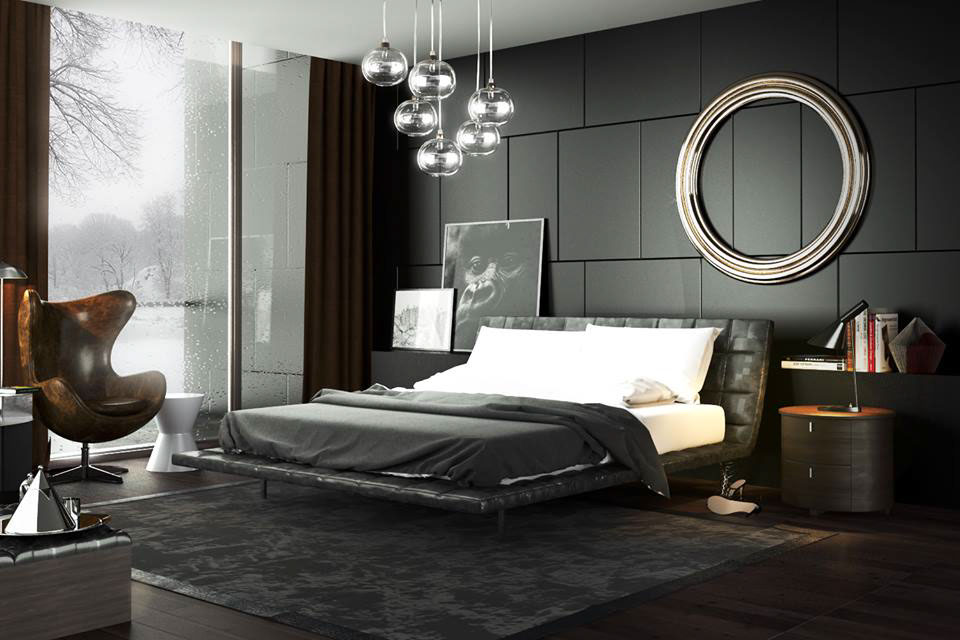 minotti bedroom cgi  behance