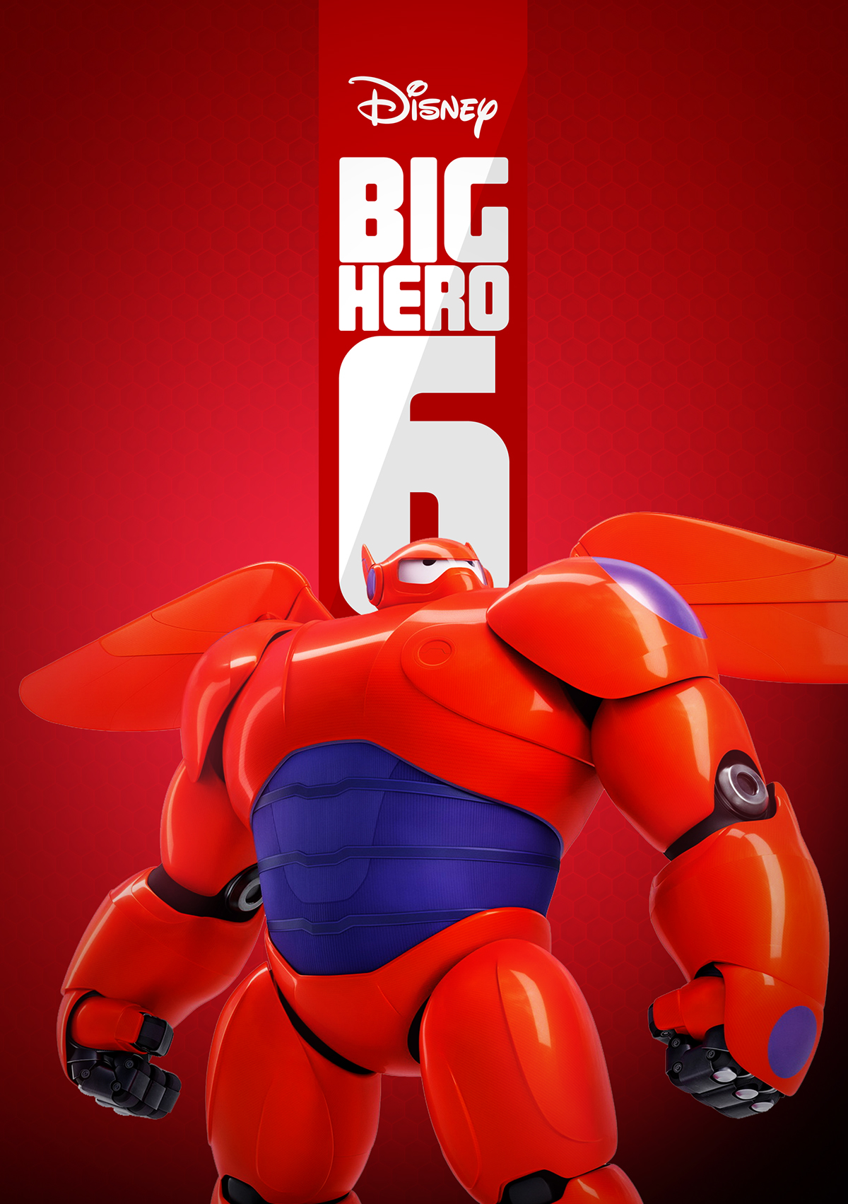 Big Hero 6 New Logo and Poster - Proposal on Pantone ...