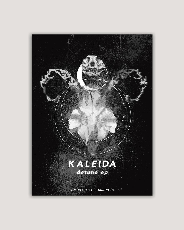 Kaleida Detune - Gig Poster on Behance