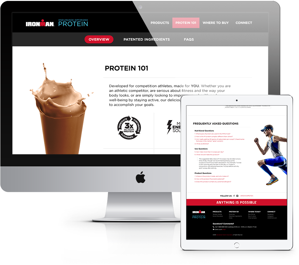 IRONMAN WEIGH PROTEIN on Behance
