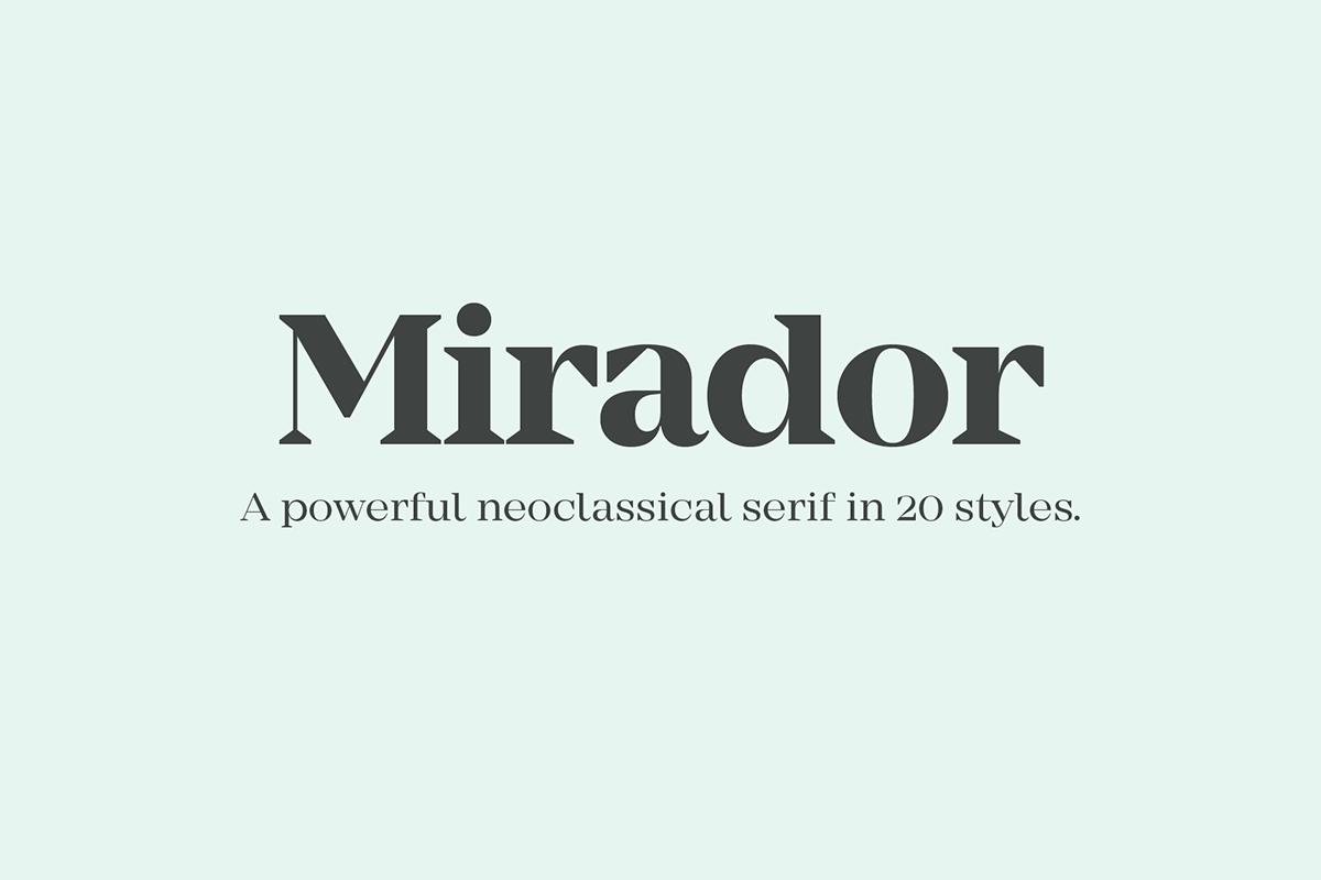 Mirador,Typeface,font,family,Display,Headline,weights,contrast,elegant,free,editorial,corporate,design,art,timeless