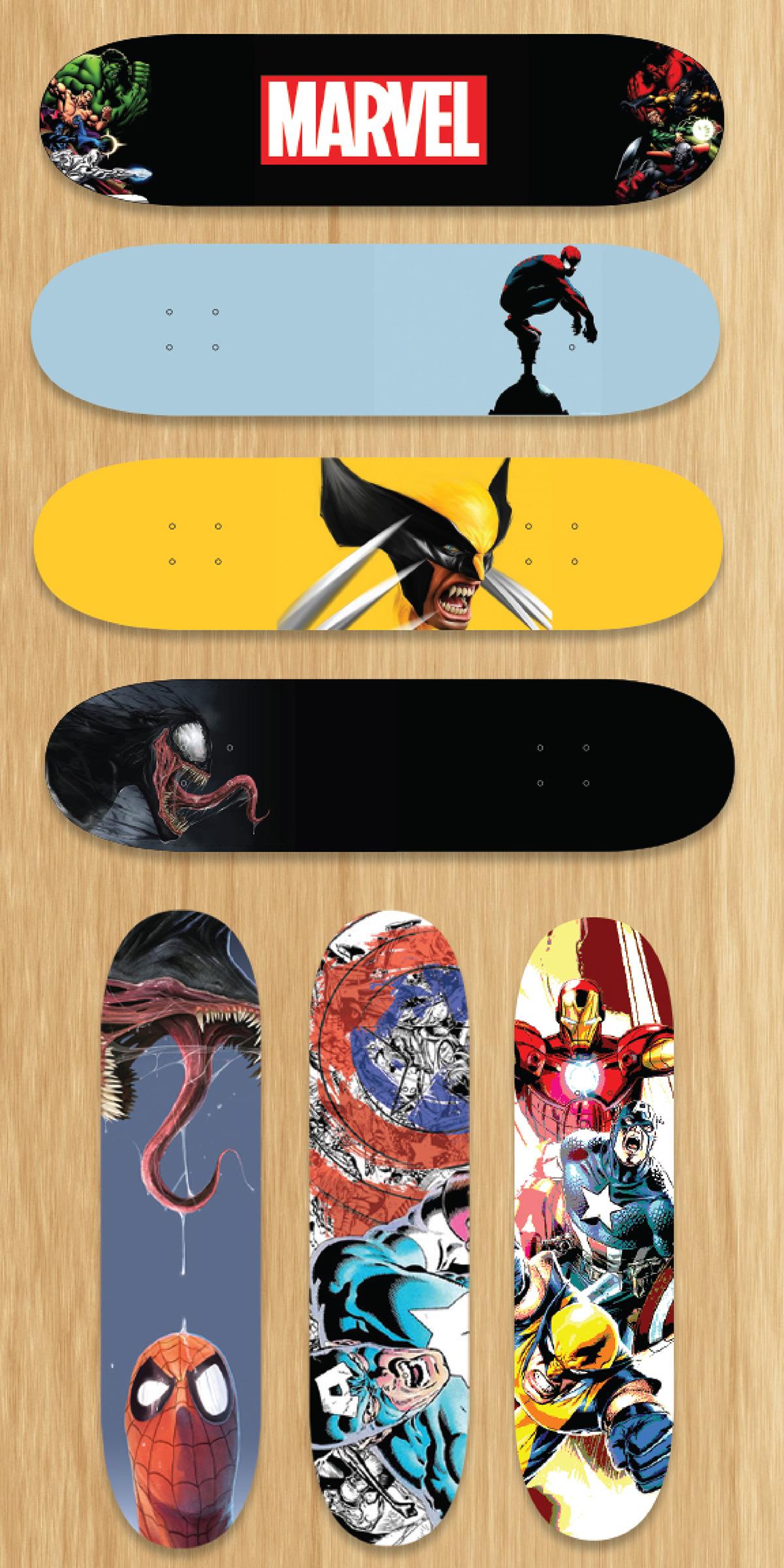 skateboard deck designs on behance