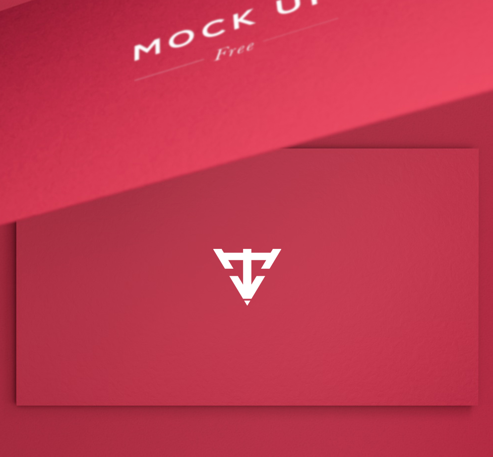 6 business cards mock up free psd on behance reheart Choice Image