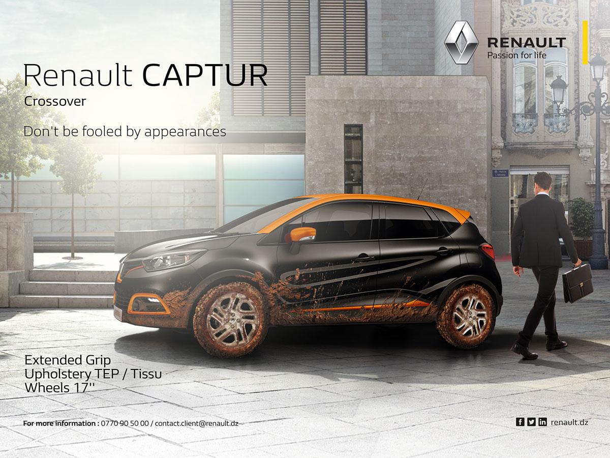 renault captur crossover on behance. Black Bedroom Furniture Sets. Home Design Ideas