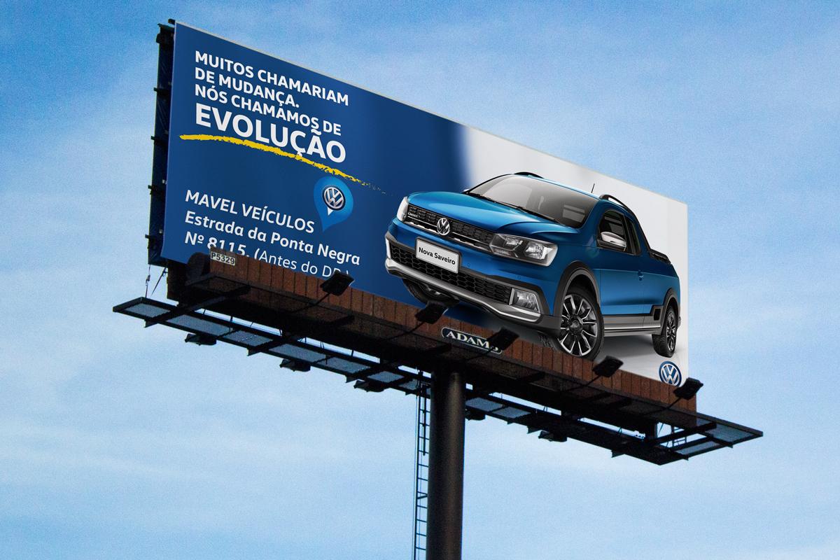design Direção de arte criação job mavel veículos campanha Nova