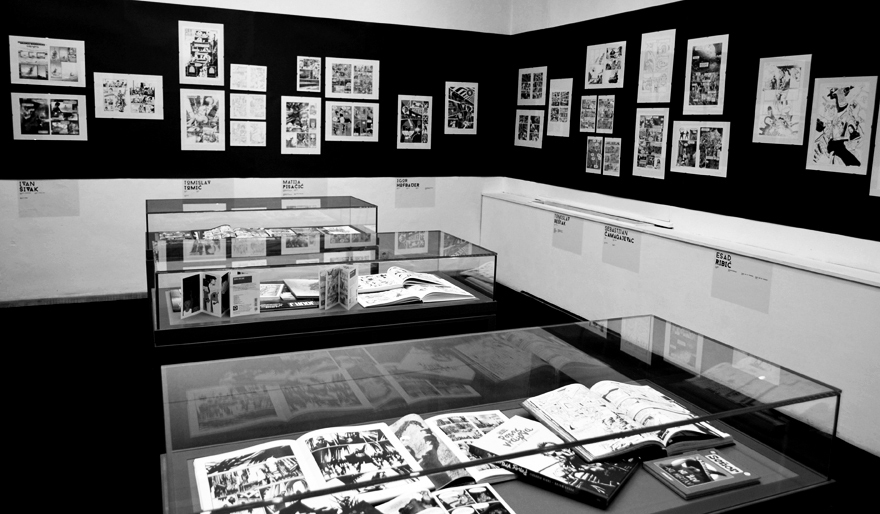 comics applied art novi kvadrat ubu organizam