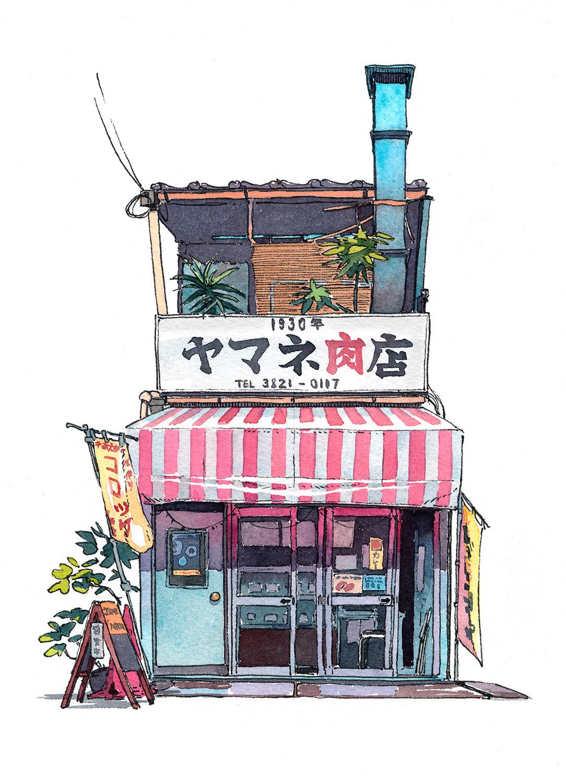 Tokyo Storefront 01 On Behance