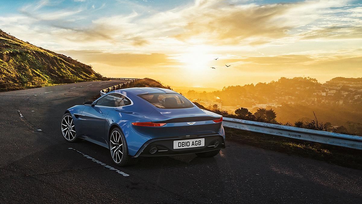 Aston Martin DB On Behance - Aston martin db 10