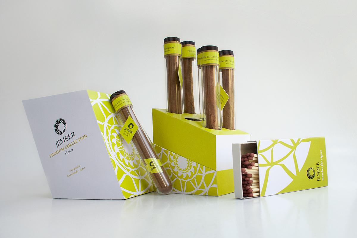 Jember cigars, packaging on Behance