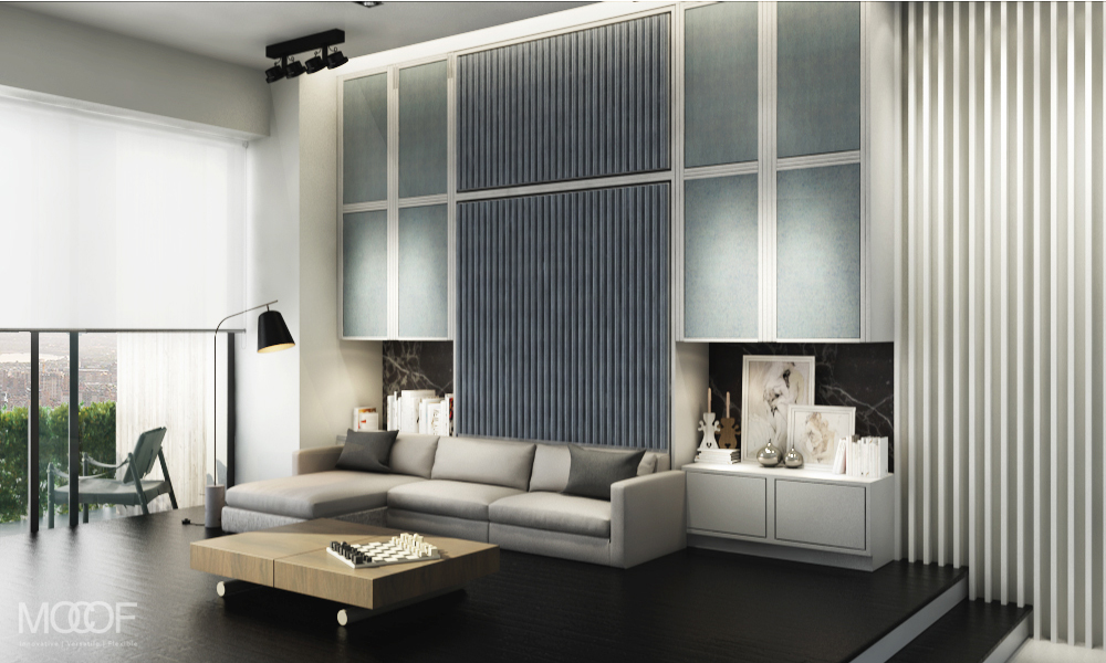 Wall bed modern studio