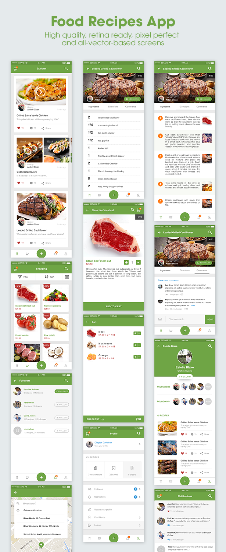 5Stars - Mobile UI KIT for Food & Beverage App Ecosystem - 4