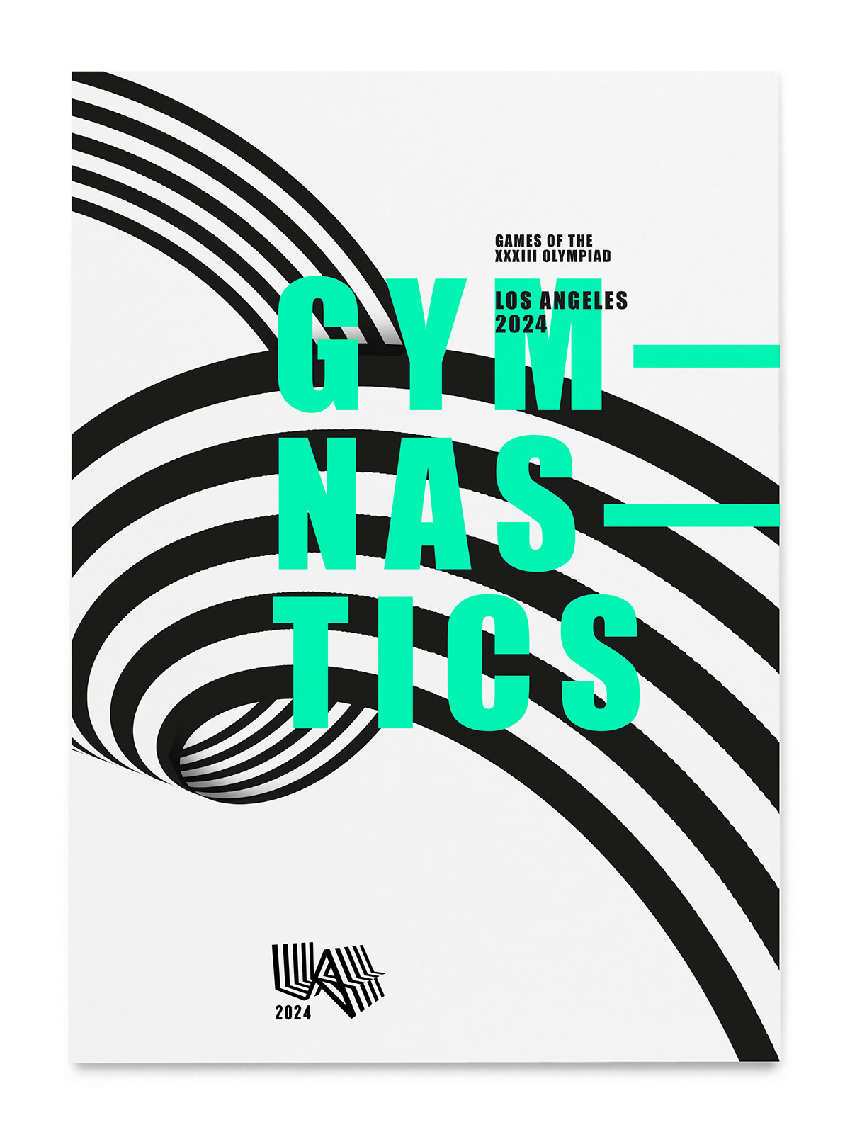 la Olympic Bid City LA 2024 Bid City Identity movement impact stripes star stars and stripes